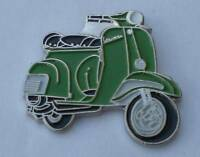 Green Vespa Scooter Mod Quality Enamel Pin Badge