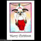 SIAMESE CAT KITTEN CHRISTMAS CARDS BY SUZANNE LE GOOD