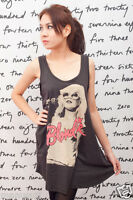 Blondie Debby Harry VT ROCK WOMEN T-SHIRT DRESS TOP M L