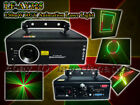 DJ Party Disco 150mW RGY Animation Cartoon Effect Laser Light Projector DMX 512