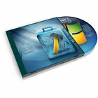PC Windows 7 System Recovery disk Live Boot CD 32 bit