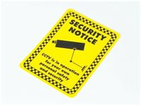 Security Camera Sign CCTV Warning  Sign - 150mm x 200mm A5 Inddor or Ourdoor use