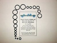 Smart Parts 4500 psi Max Flo O-ring Kit Paintball x4