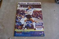 Bolton Wanderers v Wimbledon 31 March 2001