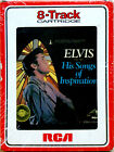 ELVIS PRESLEY His Songs Of Inspiration 8 TRACK CARTRIDGE