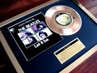 """THE BEATLES LET IT BE 24CT GOLD PLATED DISC 7"""" SINGLE RECORD DISC AWARD"""