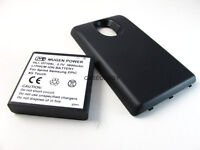MUGEN POWER 3600mAh EXTENDED BATTERY SAMSUNG GALAXY S II EPIC TOUCH 4G ACCESSORY
