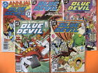 BLUE DEVIL #'s 28 29 30 31 and ANNUAL 1 Lot | Captain Boomerang | Captain Cold