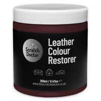MAROON Leather Dye Colour Restorer for Faded and Worn Leather Sofa etc.