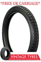 325S19 ENSIGN UNIVERSAL MOTORCYCLE TYRE 325-19 3.25-19 BSA TRIUMPH MATCHLESS