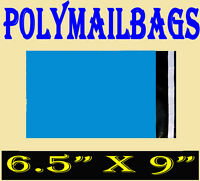 "100 Blue Mailing Mail Post Bags 6.5"" x 9"""