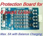 Protection Board for 6 Packs 21.6V Li-ion Lithium 18650 Battery charging max. 5A
