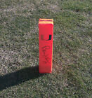 Miami Hurricanes BERNIE KOSAR Signed Autographed Football Pylon COA! PROOF