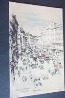 OLD POSTCARD OF REGENT STREET LONDON
