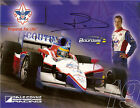 2011 SEBASTIEN BOURDAIS signed INDIANAPOLIS 500 PHOTO CARD POSTCARD INDY CAR wCA