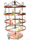 Copper Plated Multi-Earring Jewelry Display Holder d015