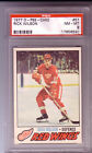 1977 O Pee Chee # 57 Rick Wilson PSA 8 NM-MT Mint Red Wings OPC