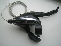 Shimano EZ fire 7 speed bike / cycle  brake lever and gear shifter ST-EF65-7R