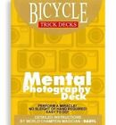 Bicycle MENTAL PHOTOGRAPHY DECK gaff Playing Cards Magic Trick EASY TO DO photo