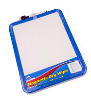 A4 Size Dry Wipe Drywipe Notice Memo Whiteboard White Board with Marker Wipeoff