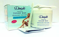 Dimples Natural Sugar Wax Microwaveable / Water-soluble Include Spatula, Strips*