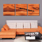 Golden Desert&Camels Ready to Hang Digital Art Panels for Replacing Canvas Arts