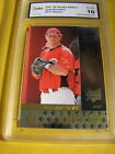 JOSH HAMILTON REDS RANGERS 2007 SP ROOKIE EDITION RC  # 117 GRADED 10