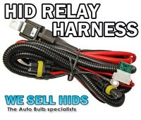 Xenon HID Kit Wire Relay Harness H7  H1  H3 40 AMP Loom BALLAST PROBLEM FLASHING