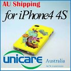 Cartoon SpongeBob SquarePants Hard Back Skin Case Cover For iPhone 4 4G 4S 09