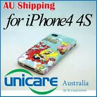 Cartoon SpongeBob SquarePants Hard Back Skin Case Cover For iPhone 4 4G 4S 13