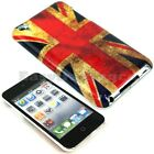 Hard Back Cover Case iPod Touch 4 4G 4th Gen Vintage UK United Kingdom Flag