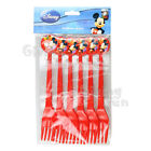 AUTHENTIC Disney Mickey Mouse Birthday Party Supplies 6x Child Fork