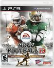 NCAA 13 2013 Football Real Rosters PS3 Memory Card