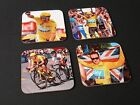 Bradley Wiggins Tour de France Winner 2012 COASTER Set