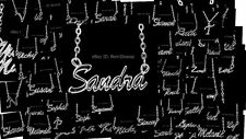 Personalised Name Necklace-SANDRA/SARA/SARAH/SHANNON/SHARON/SOPHIE/STACEY/SUSAN