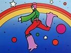Splendid Cosmic Jumper DetaiI II, Ltd Ed Lithograph, Peter Max - SIGNED with COA