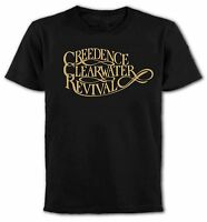 """Creedence Clearwater Revival"" T-Shirt, U.S. Southern Rock, 1970's, All Colours"