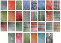 Printed Patterned Luxury Tissue Wrapping Paper luxury 4 sheets