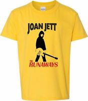 "Joan Jett & The Runaways"" T-Shirt - Punk, Rock, Glam, New Wave All Sizes/Colours"