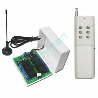 6CH RF Wireless Radio Remote Control System with Transmitter & Receiver DC 2000M