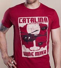 CATALINA WINE MIXER T-shirt stepbrothers ferrell helicopter movie S-XXL