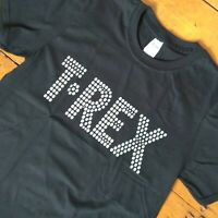 """T-Rex"" Band T-Shirt - Marc Bolan, Glam Rock, 1970's All Sizes & Various Colours"