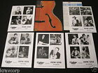 HENDRIX/CLAPTON/BB KING/BUDDY HOLLY 'LEGENDS OF GUITAR' 1990 PRESS KIT—5 PHOTOS