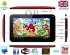 "WM NEW 7"" INCH GOOGLE ANDROID 4.0 TABLET PC VIA 8850 MID APAD EPAD NETBOOK RED"