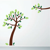 Colour Tree Wall Art Stickers, Wall Decals, Wall Graphics