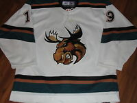 Manitoba Moose Vancouver Jersey Nathan Smith Game Worn/Used AHL Hockey Jersey