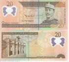 DOMINICAN REPUBLLIC 20 Pesos Banknote World Currency BILL p182 Note POLYMER