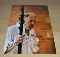 TIM PIGOTT-SMITH GENUINE SIGNED AUTOGRAPH 6x4 PHOTO DOWNTON ABBEY THE HOUR + COA
