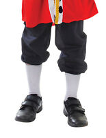 BOYS VICTORIAN #BREECHES CHRISTMAS FANCY DRESS XMAS BLACK TUDOR TROUSERS KING