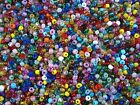Seed Beads 4mm Multi Mix 50g Glass Necklaces Bracelets Craft FREE POSTAGE
